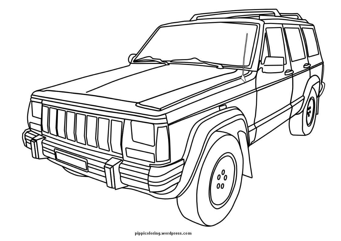 1000+ images about Jeep Coloring Book on Pinterest